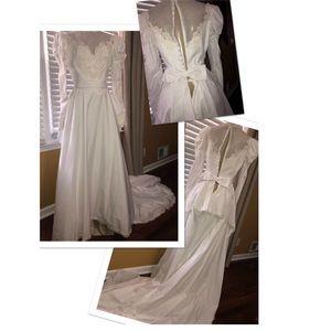 🎃👰Vintage wedding dress